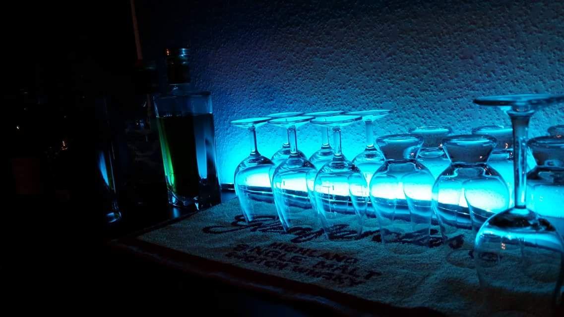 Eine kleine Whiskybar