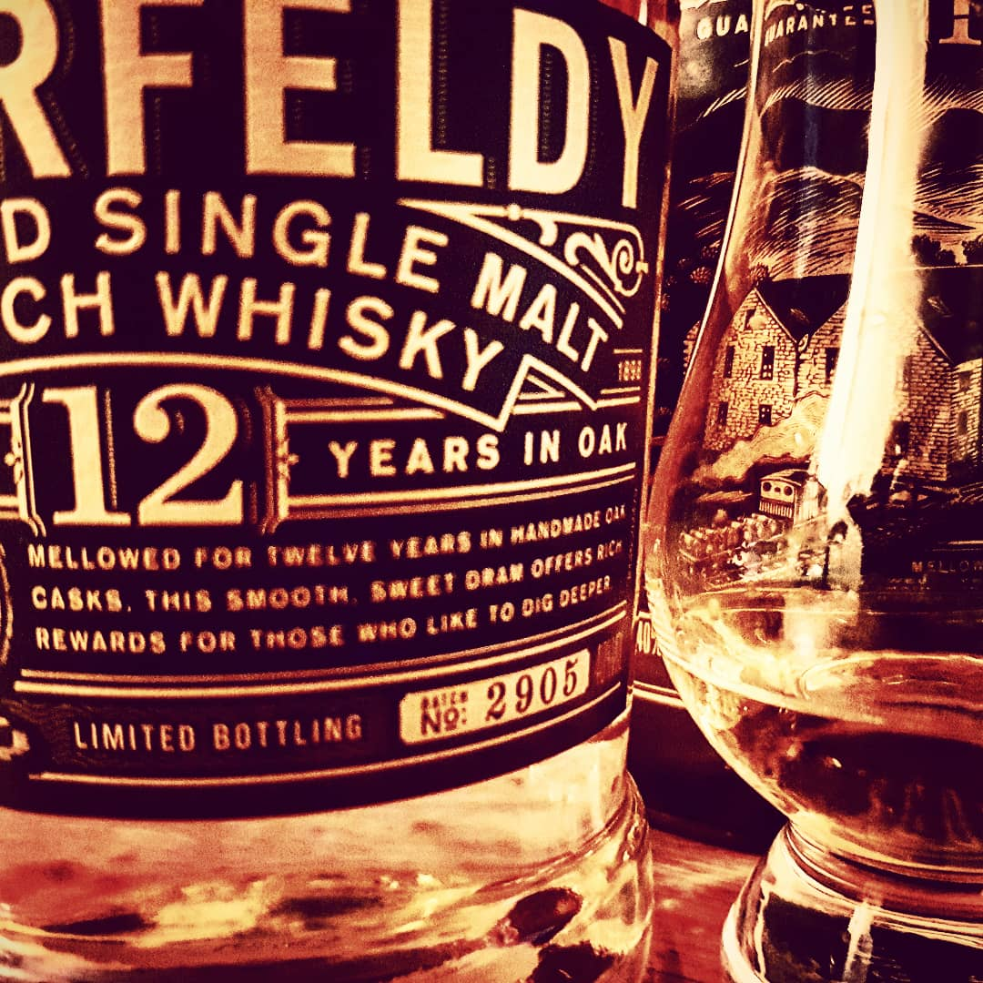 Aberfeldy 12 Jahre Highland Single Malt Scotch Whisky