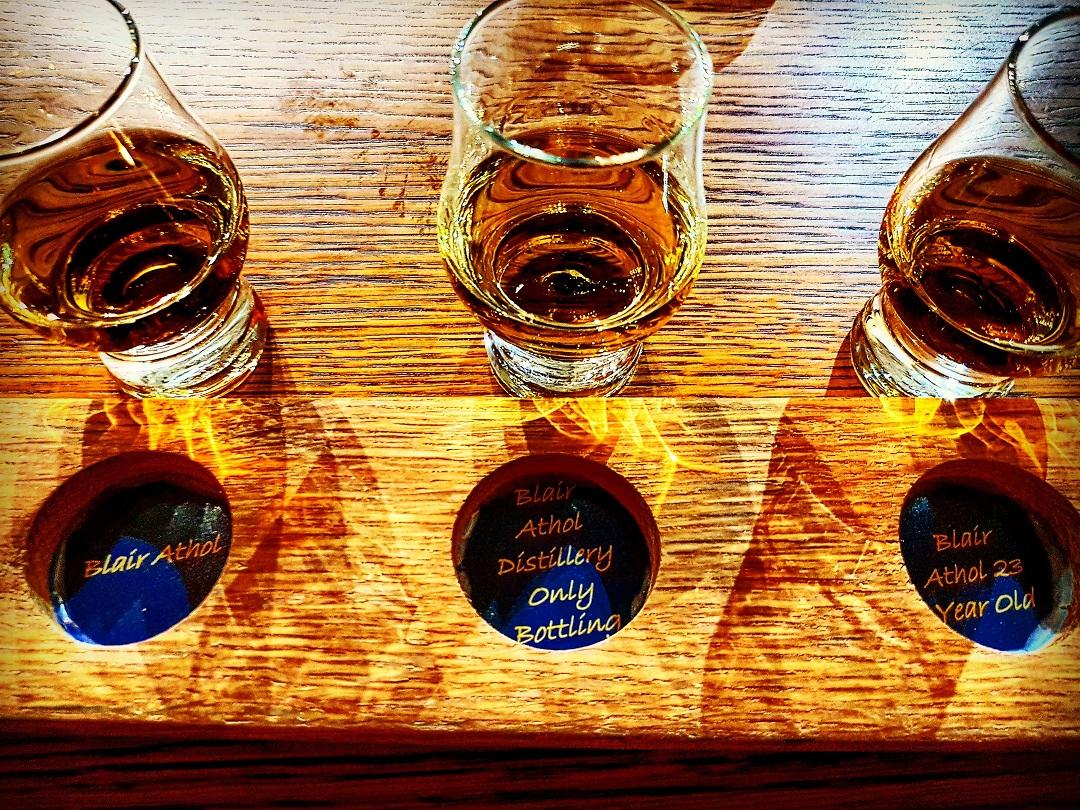 Tasting in der Blair Athol Distillery Foto 02