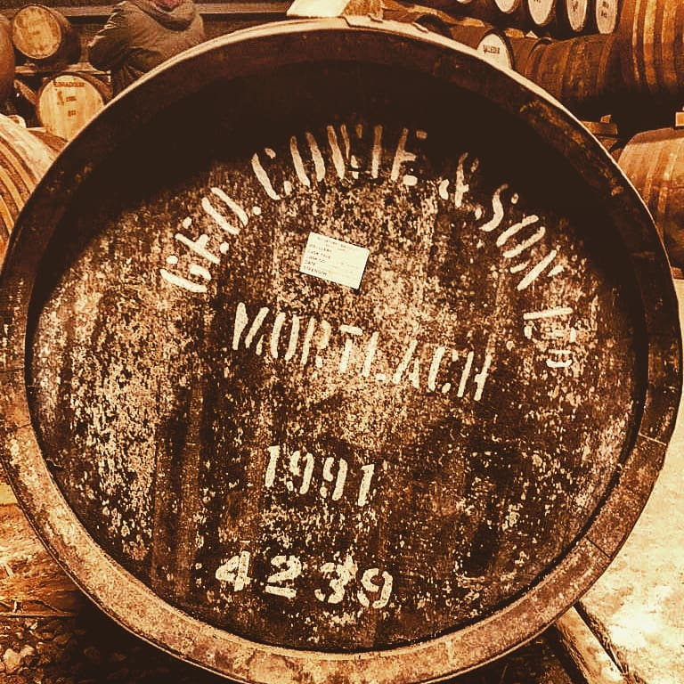 Whisky Fass Mortlach