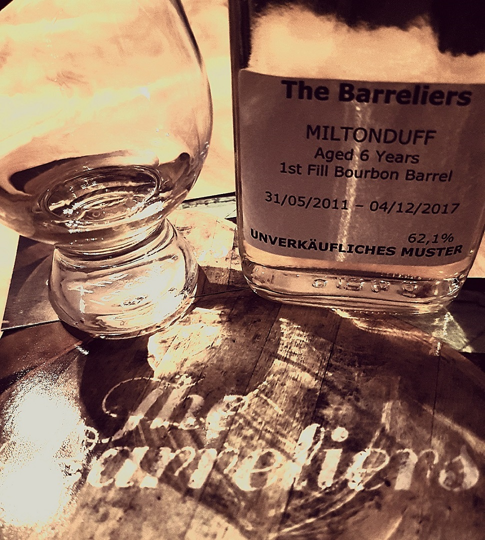 The Barreliers Miltonduff 6 Jahre Speyside Single Malt Scotch Whisky