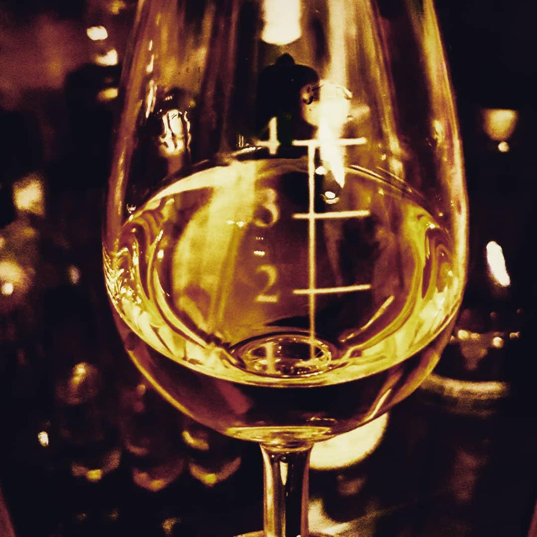 Whisky in einem Nosing Glas.