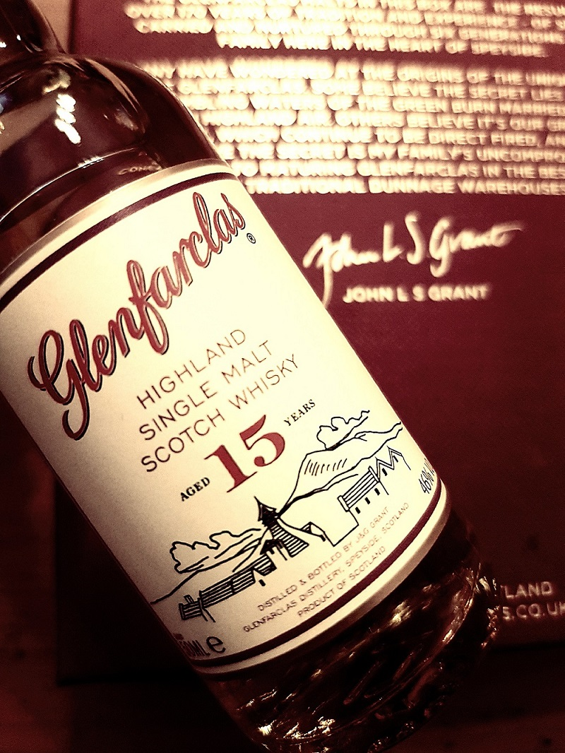 Glenfarclas 15 Jahre Speyside Single Malt Scotch Whisky