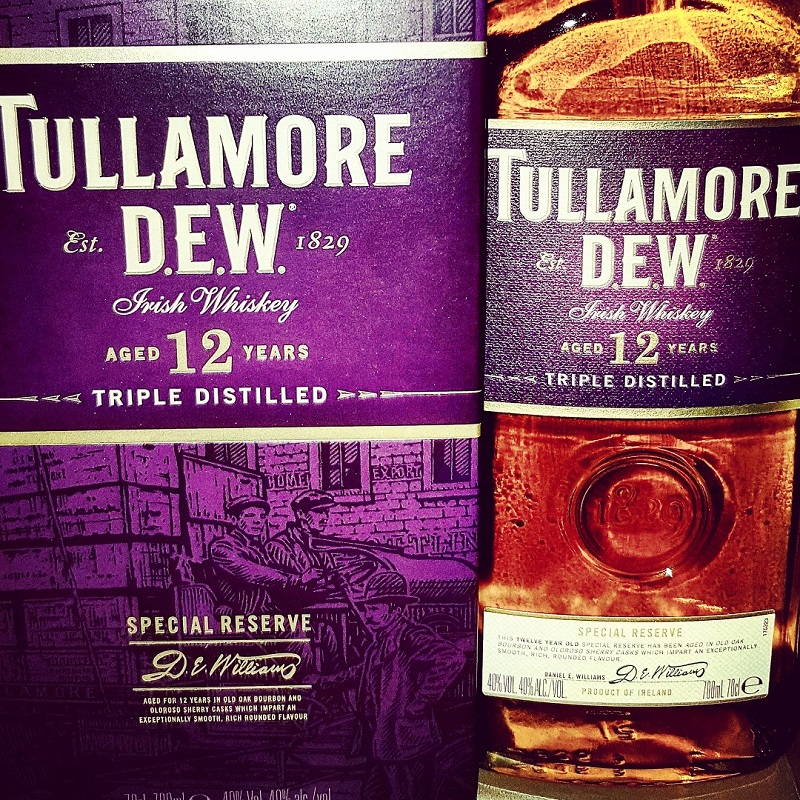 Tullamore D.E.W. 12 Jahre Special Reserve Irish Blended Whiskey