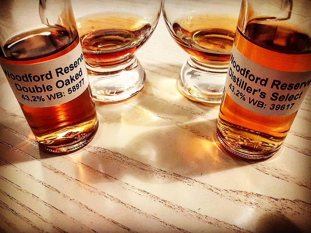 Woodford Reserve Distiller's Select und Double Oaked im direkten Vergleich