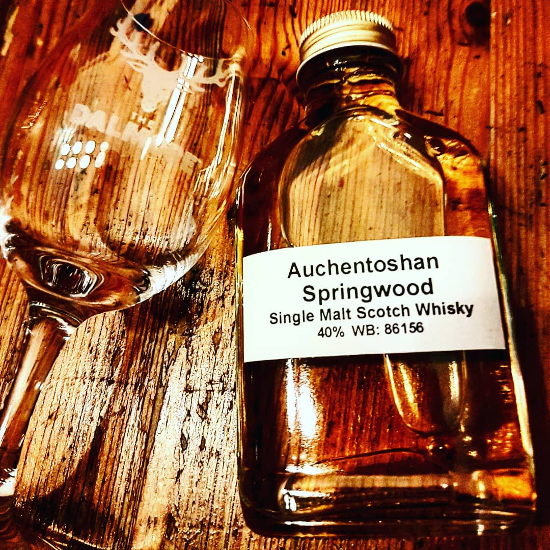 Auchentoshan Springwood Lowland Single Malt Scotch Whisky
