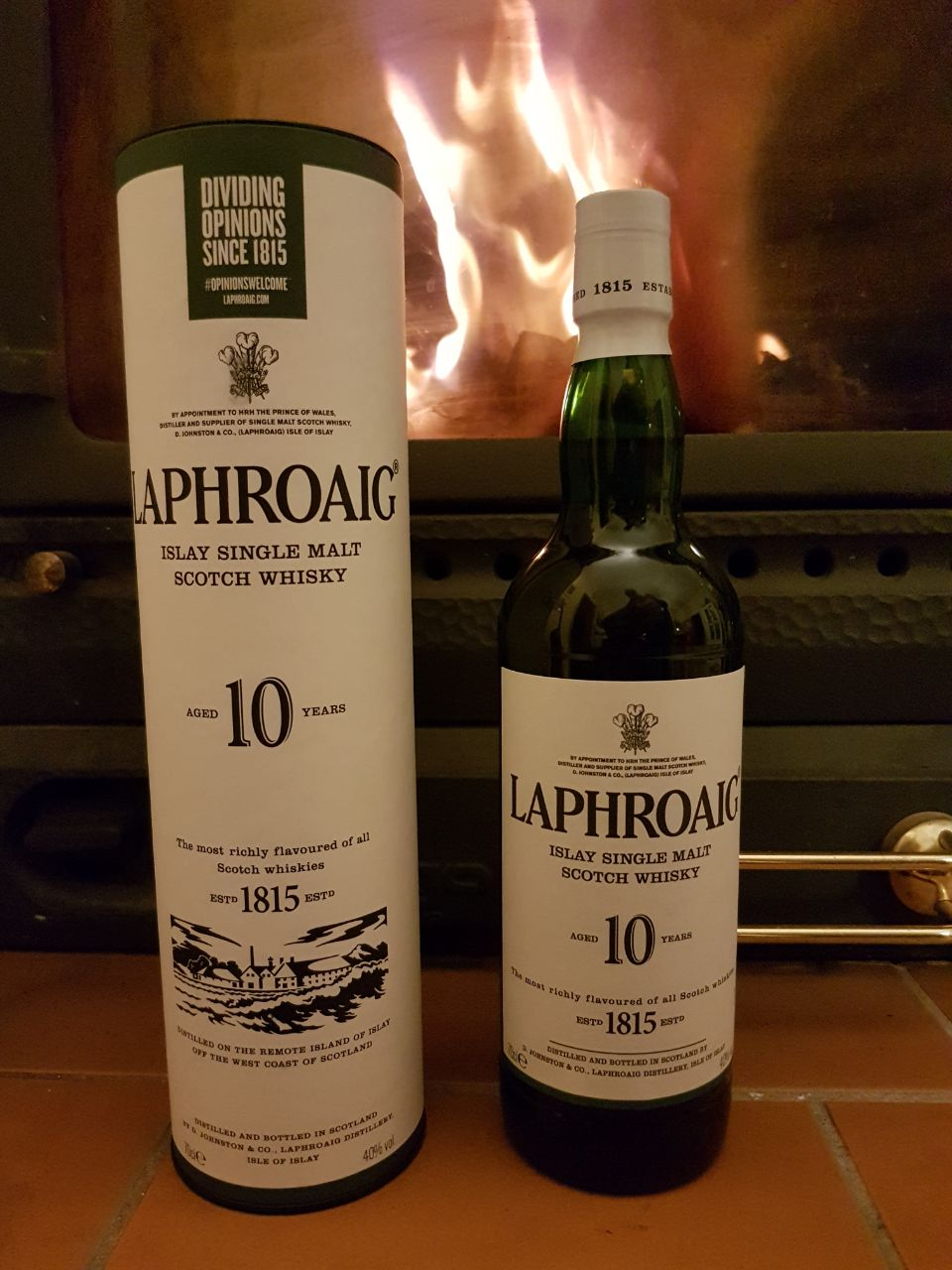 Laphroaig 10 Jahre Islay Single Malt Scotch Whisky