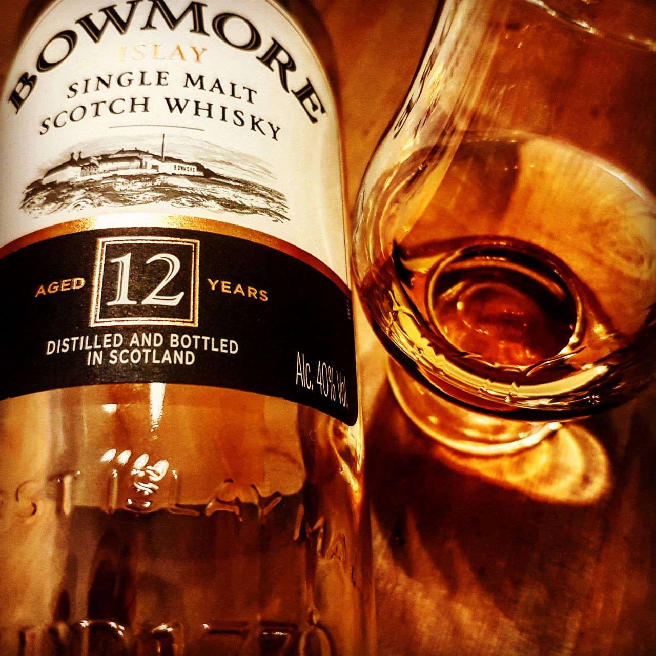 Bowmore 12 Jahre Islay Single Malt Scotch Whisky