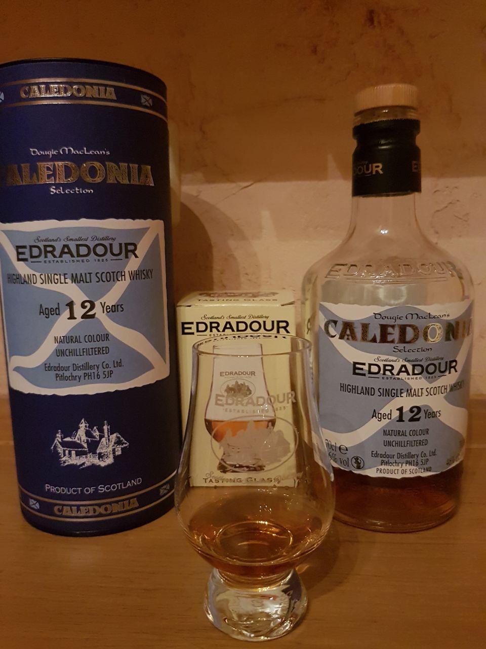 Edradour 12 Jahre Caledonia Single Malt Scotch Whisky