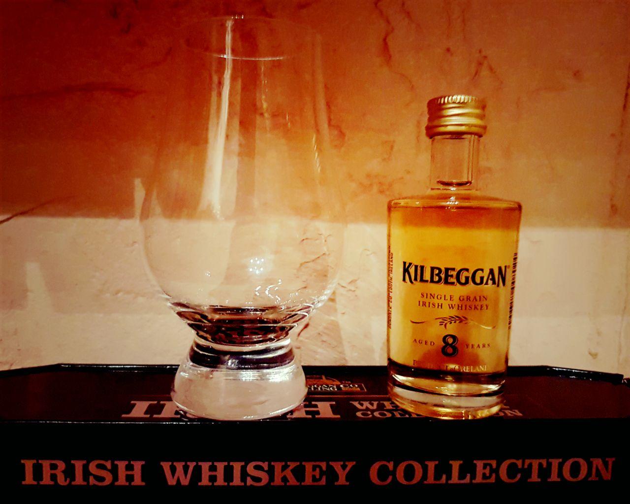 Kilbeggan 8 Jahre Single Grain Irish Whiskey