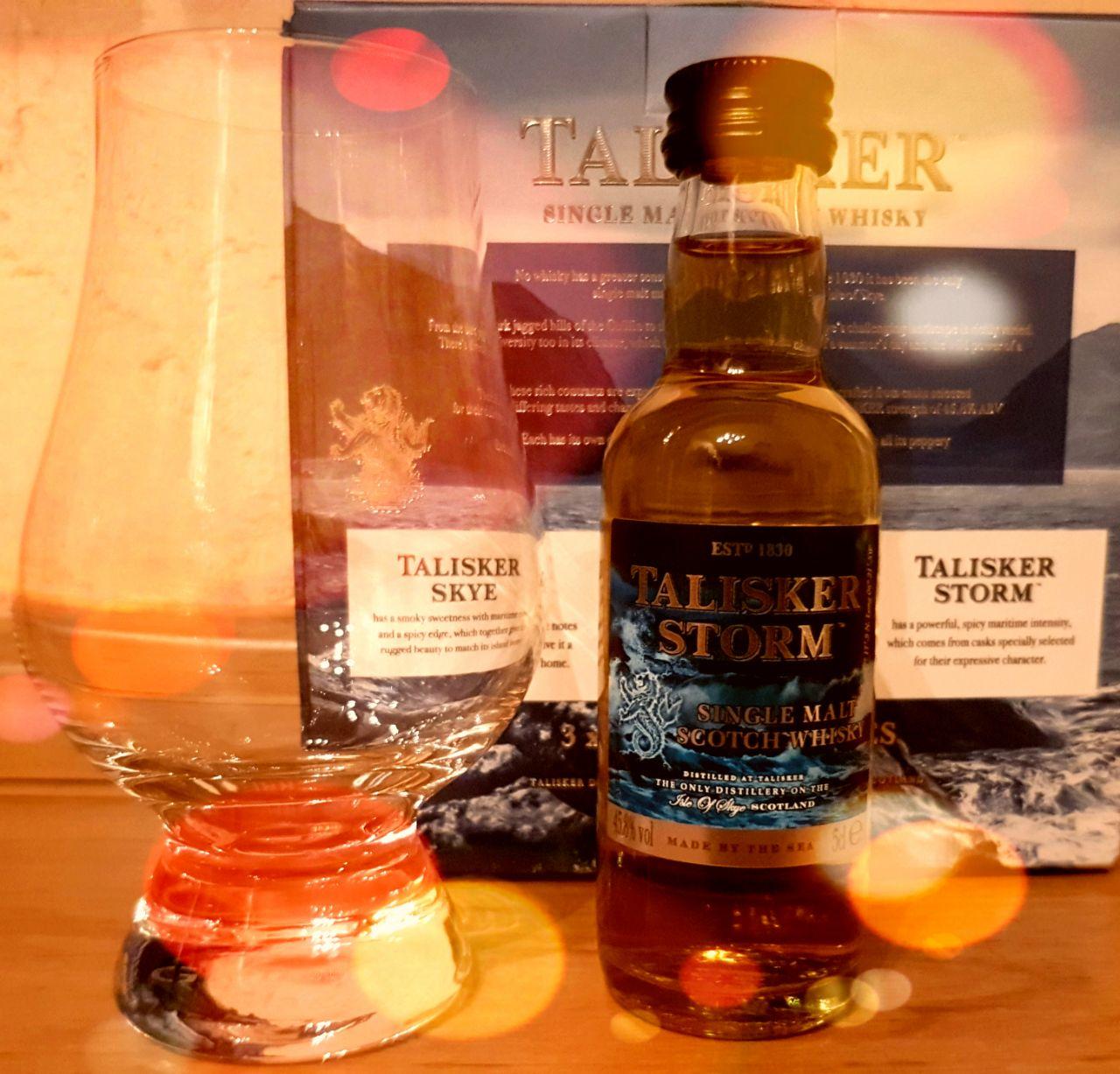 Talisker Storm Islay Single Malt Scotch Whisky