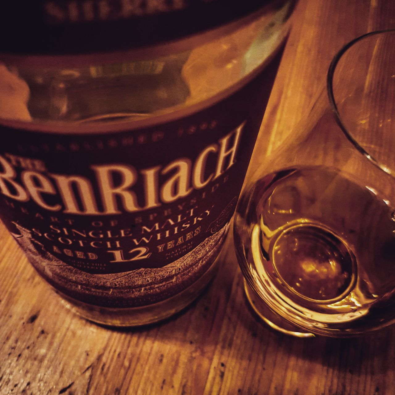 Benriach 12 Jahre Single Malt Scotch Whisky