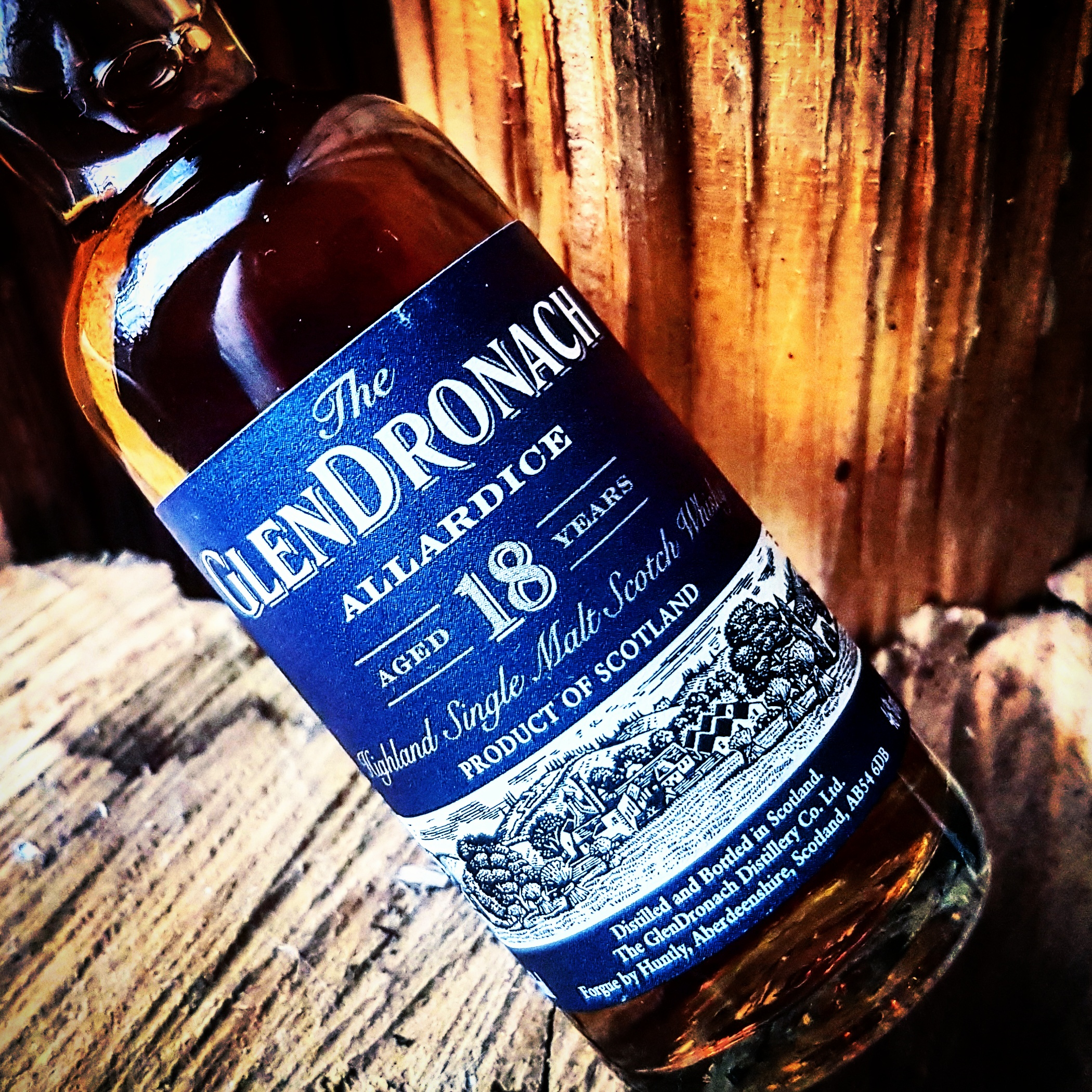 The GlenDronach Allardice 18 Jahre Highland Single Malt Scotch Whisky