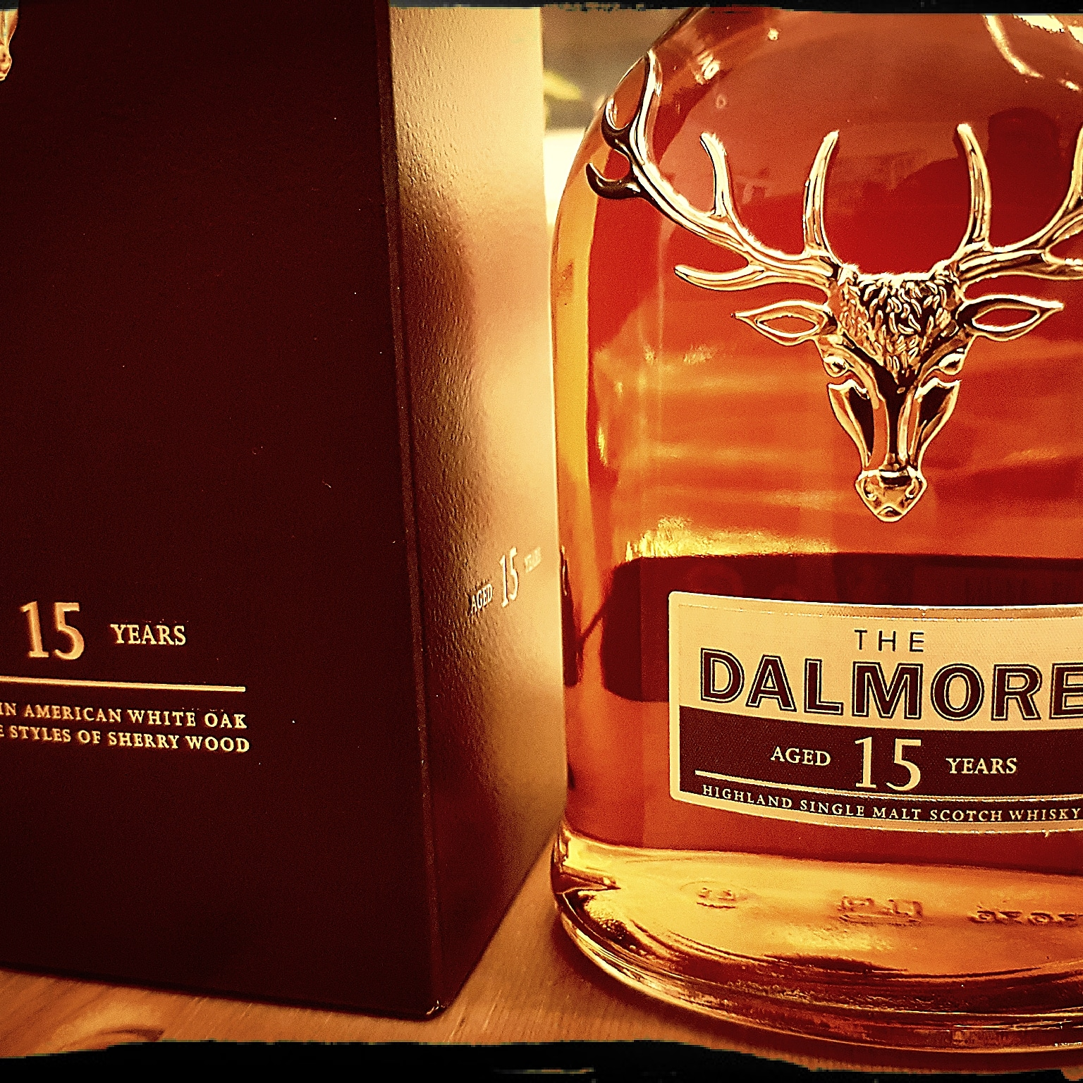 The Dalmore 15 Jahre Highland Single Malt Scotch Whisky