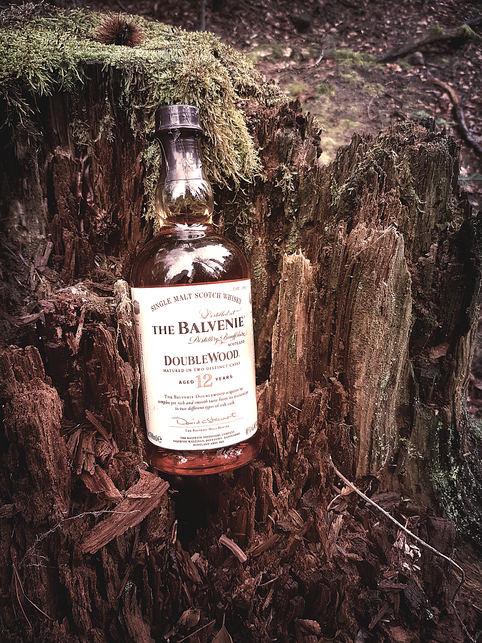 Balvenie 12 Jahre Double Wood Single Malt Scotch Whisky Foto 02
