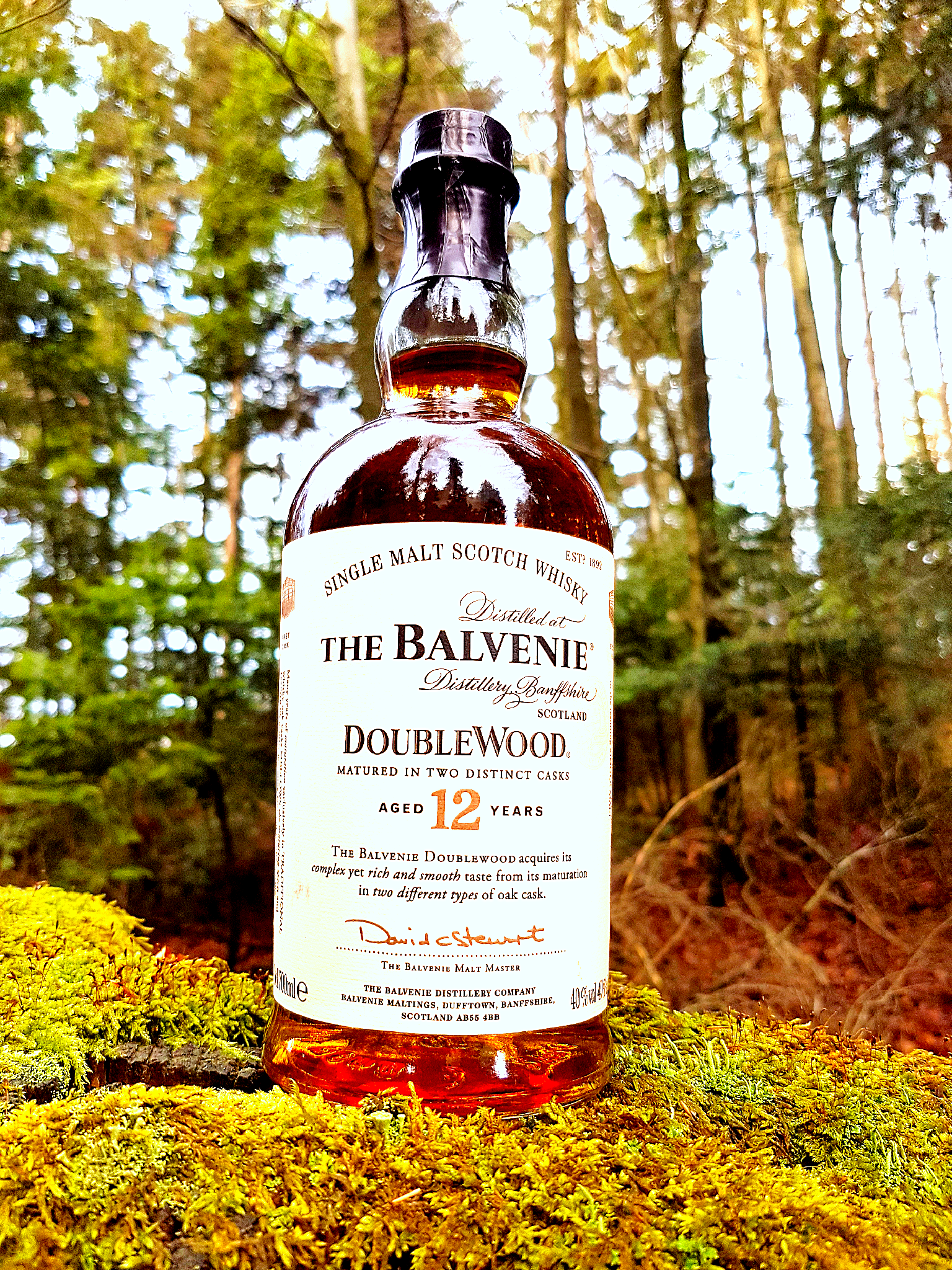 Balvenie 12 Jahre Double Wood Single Malt Scotch Whisky Foto 03