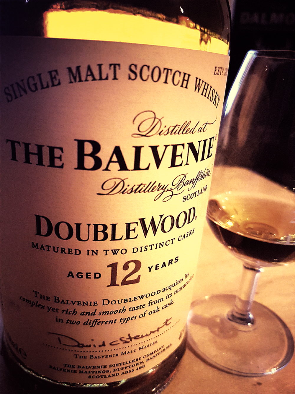 Balvenie 12 Jahre Double Wood Single Malt Scotch Whisky Foto 04