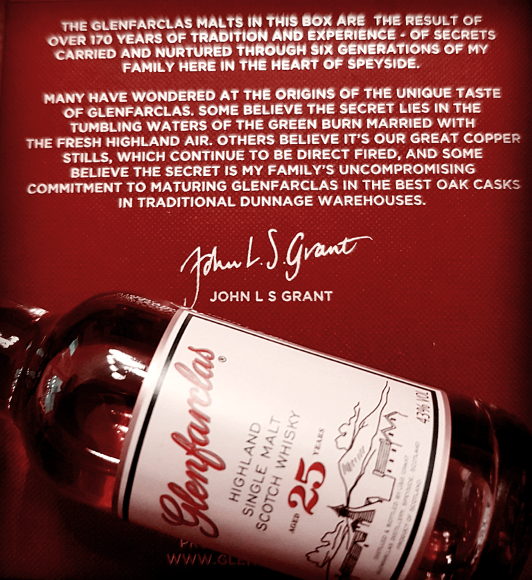 Glenfarclas 25 Jahre Speyside Single Malt Scotch Whisky