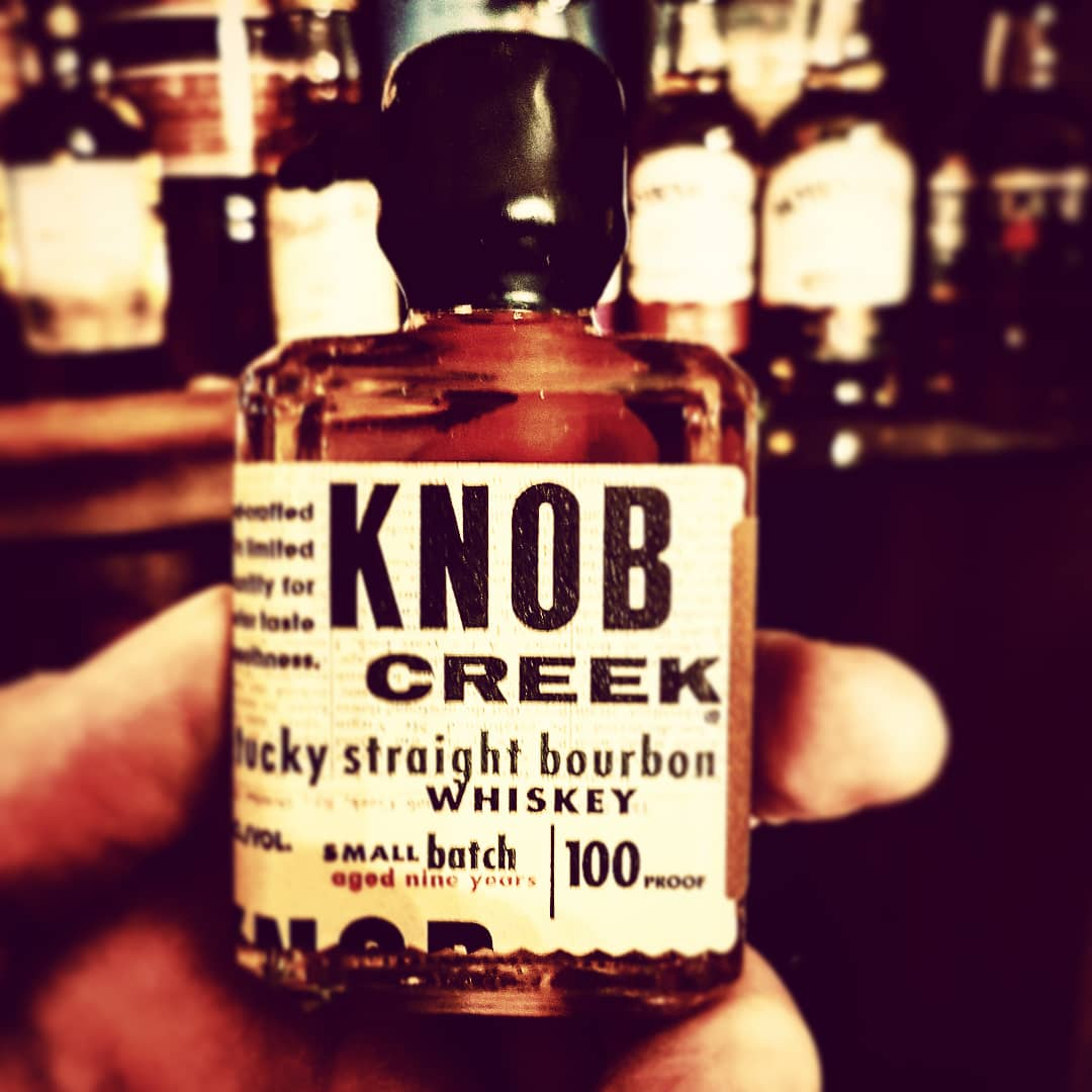 Knob Creek Kentucky Straight Boubon Whiskey