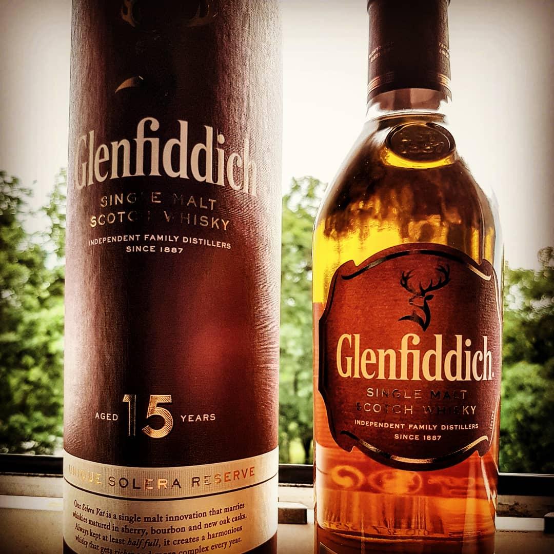 Glenfiddich 15 Jahre Solera Reserve Single Malt Scotch Whisky