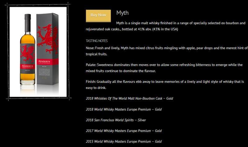 Penderyn Myth - Quelle: penderyn.wales (April 2020)
