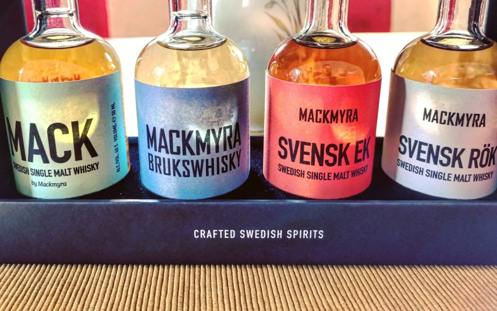 Mackmyra Swedish Whisky Samples