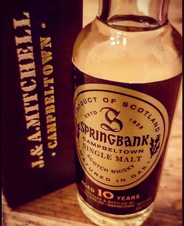 Springbank 10 Jahre Campbeltown Single Malt Scotch Whisky