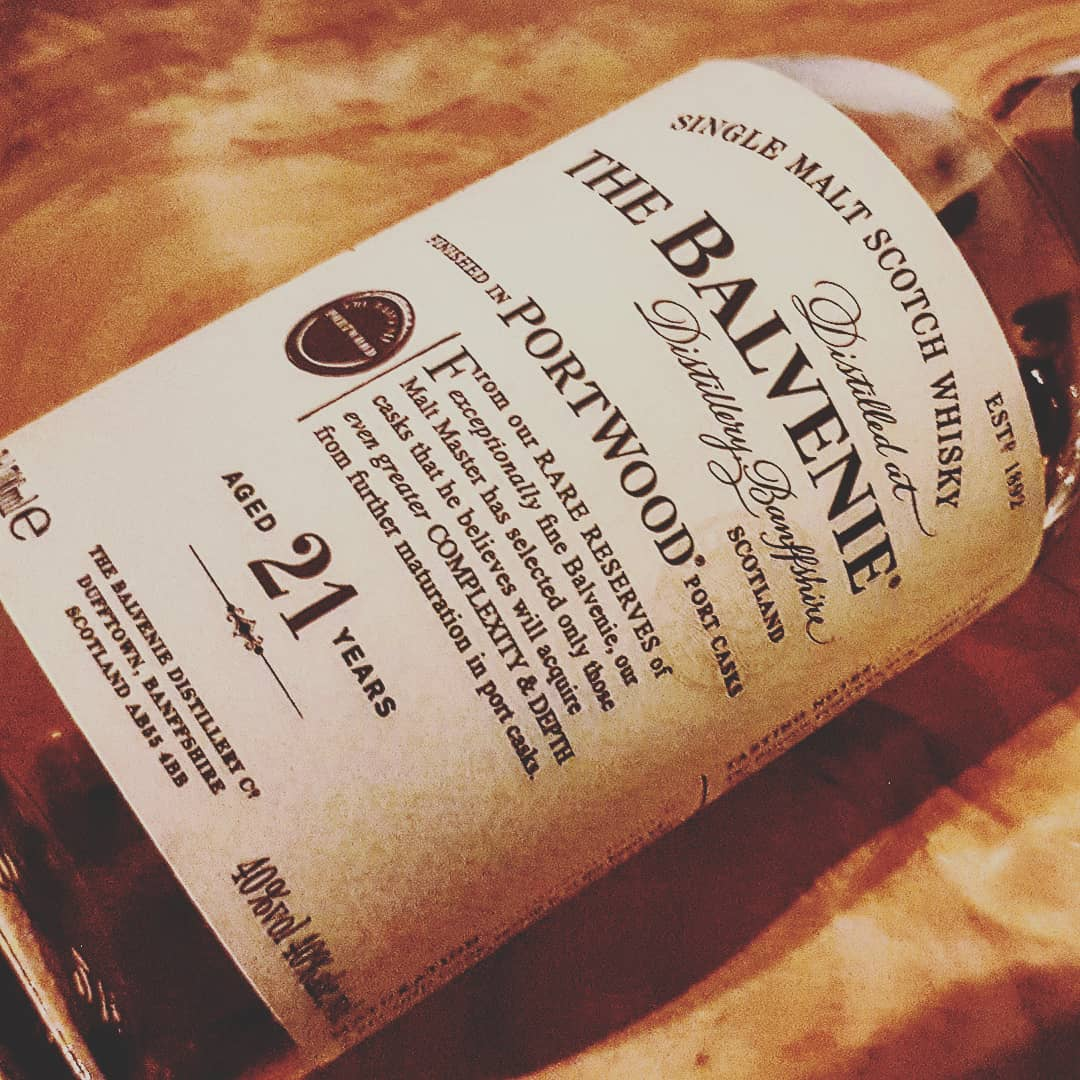 The Balvenie 21 Jahre Port Wood Finish Single Malt Scotch Whisky