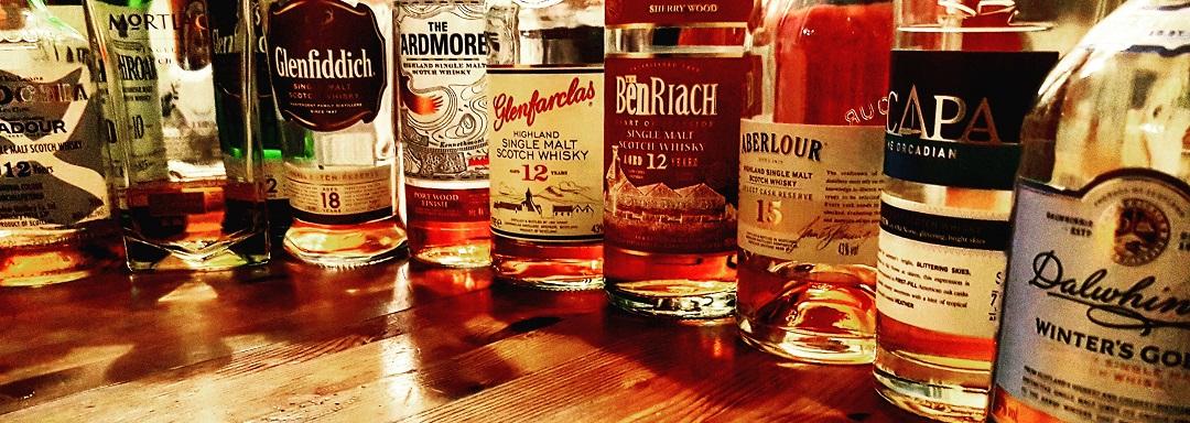 Whisky Flaschen