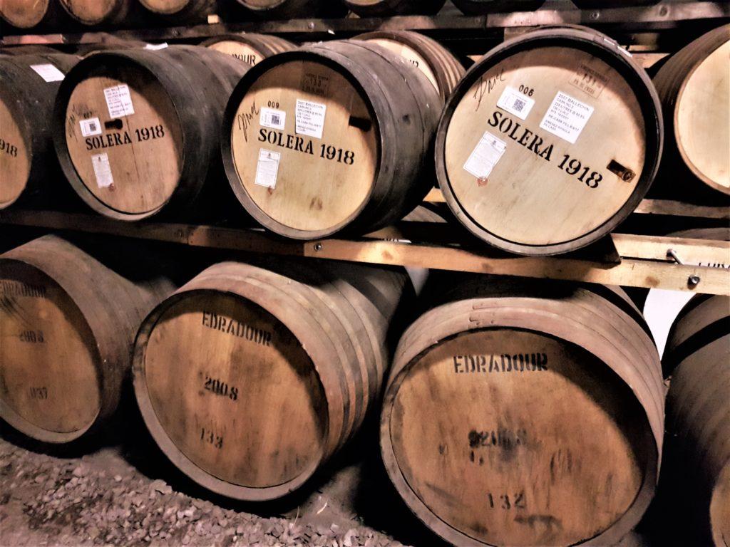 Whisky Fässer Edradour