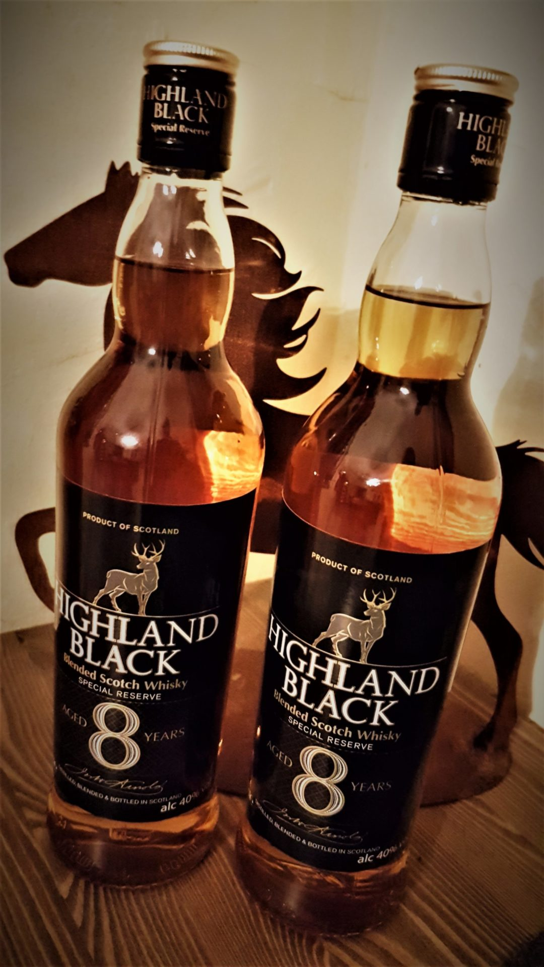 Highland Black 8 Jahre Blended Scotch Whisky