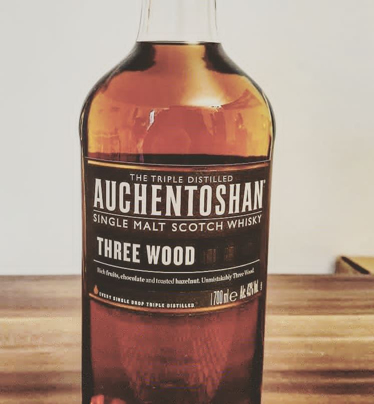 Auchentoshan Three Wood Lowland Single Malt Scotch Whisky