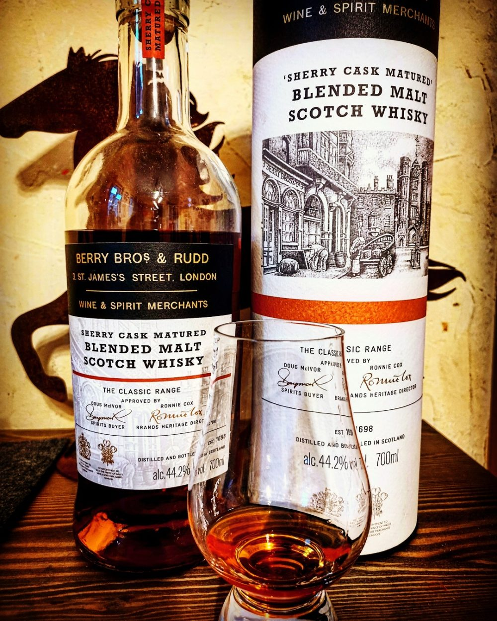Berry Bros. & Rudd Sherry Blended Malt Scotch Whisky