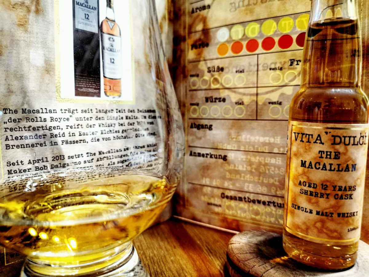 The Macallan 12 Jahre Sherry Cask Single Malt Whisky