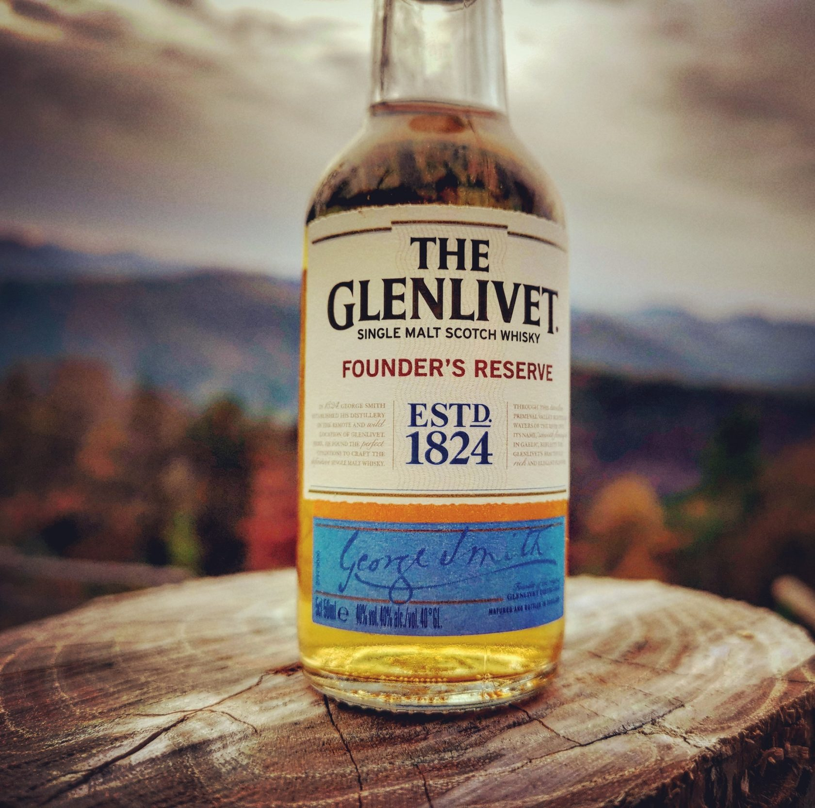 The Glenlivet Founder's Reserve Speyside Single Malt Scotch Whisky