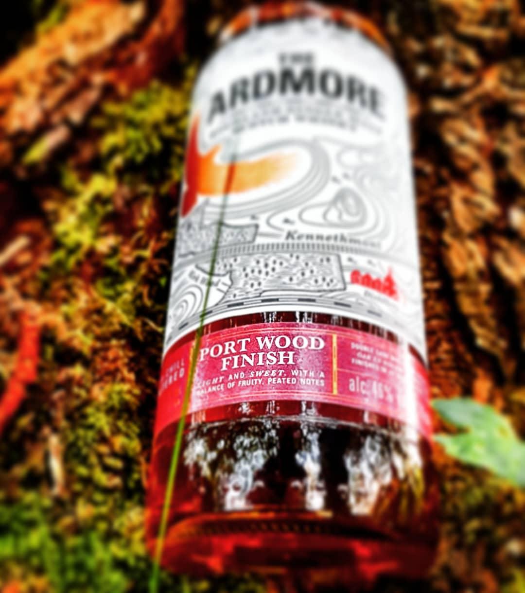 The Ardmore 12 Jahre Highland Single Malt Scotch Whisky Port Wood Finish