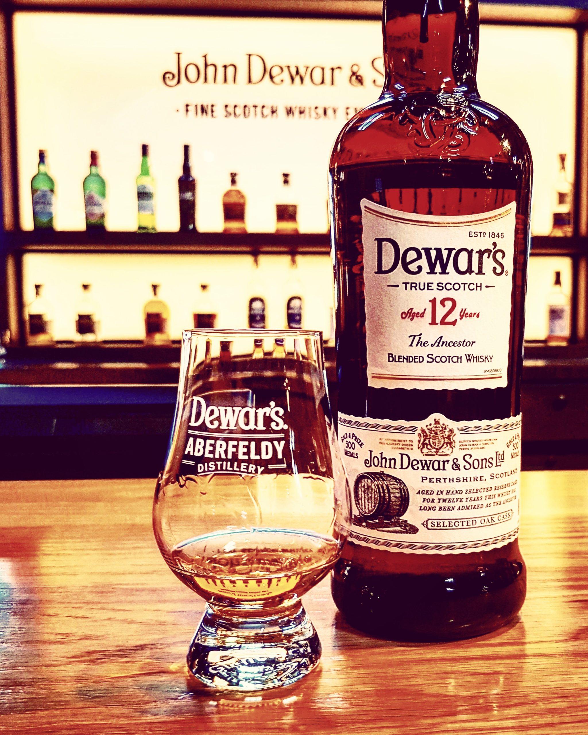Dewars 12 Jahre Blended Scotch Whisky