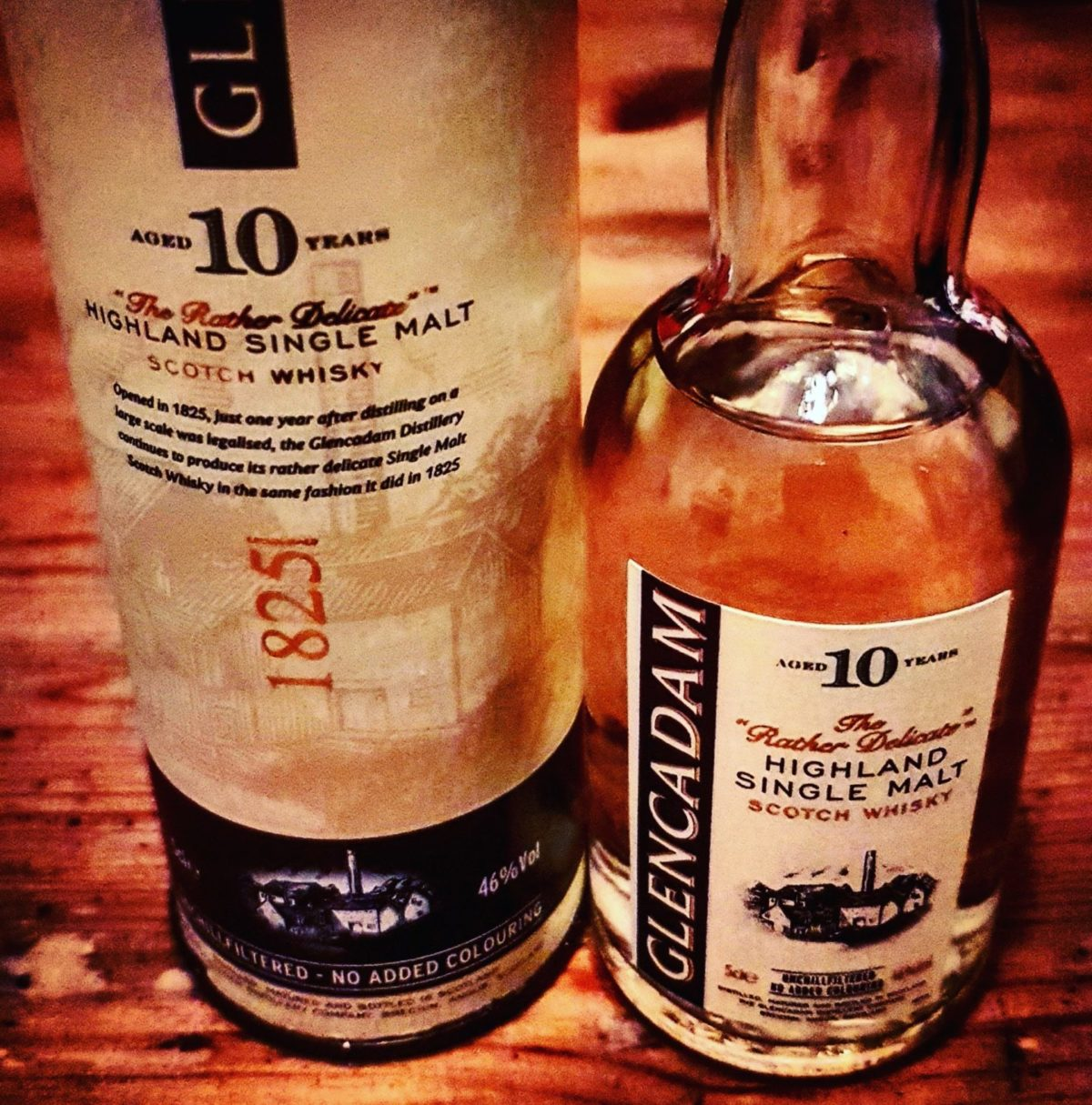 Glencadam 10 Jahre Highland Single Malt Scotch Whisky