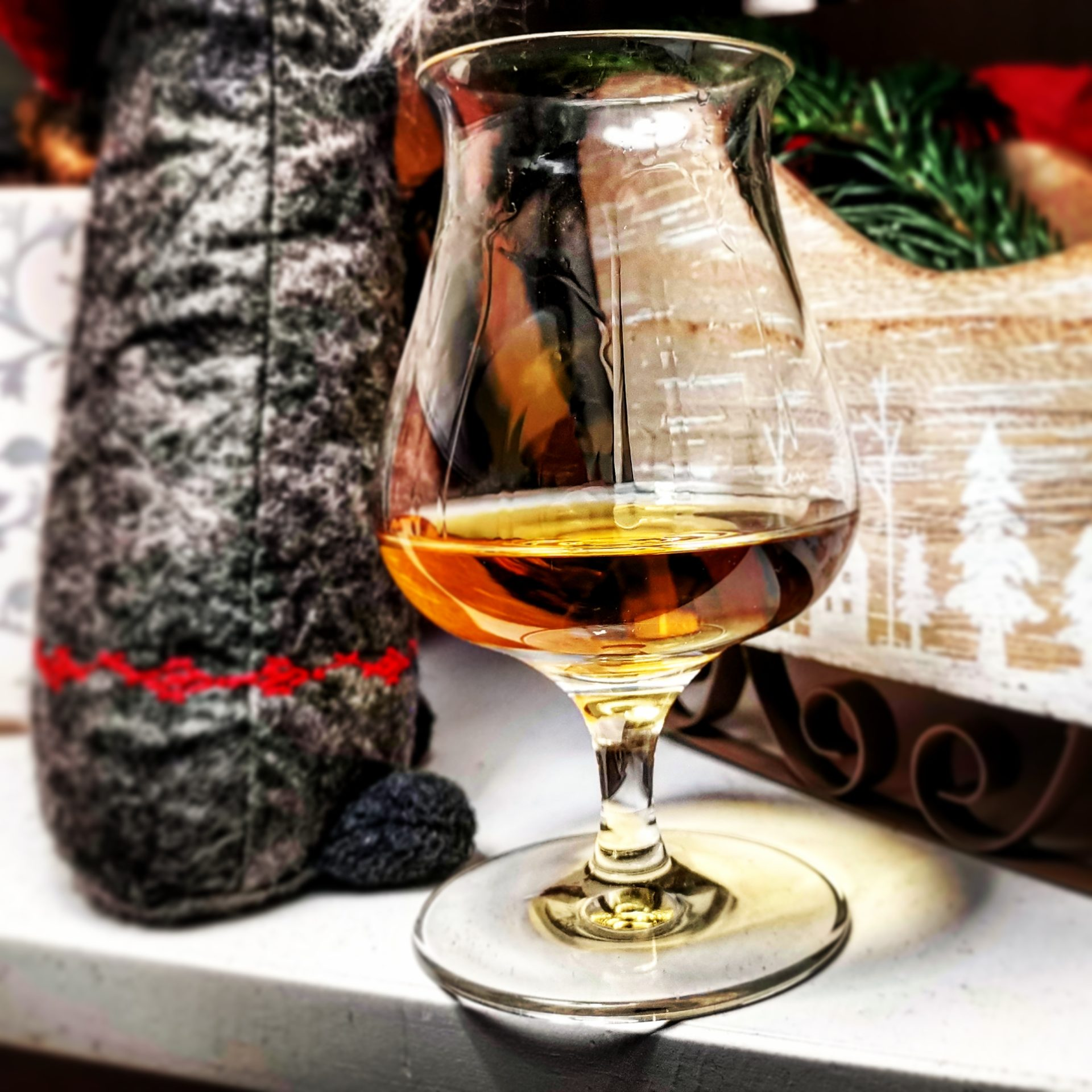Whisky in einem Nosing Glas