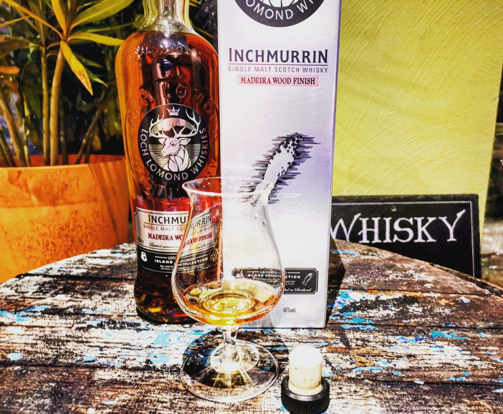 Inchmurrin Madeira Wood Finish Single Malt Scotch Whisky