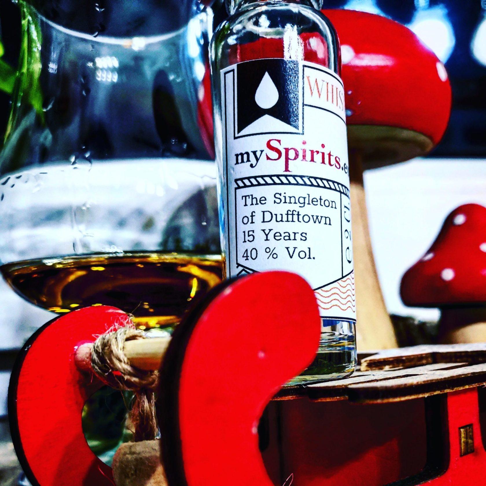 The Singleton of Dufftown 15 Jahre Speyside Single Malt Scotch Whisky