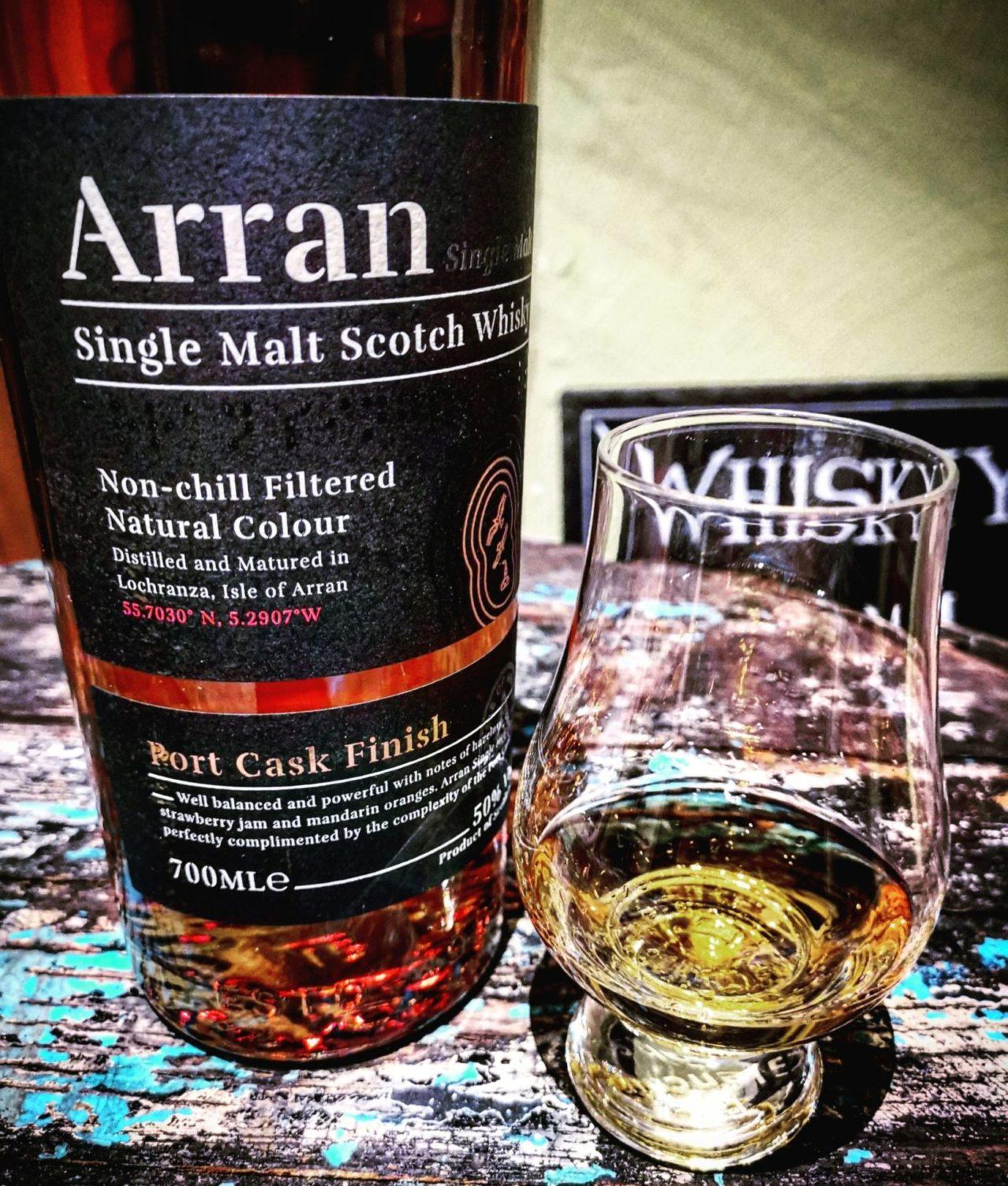Arran Port Cask Finish Islands Single Malt Scotch Whisky