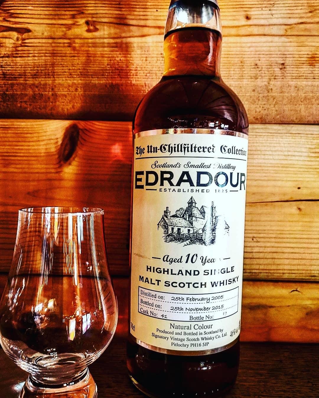 Edradour 10 Jahre Signatory Vintage Highland Single Malt Scotch Whisky