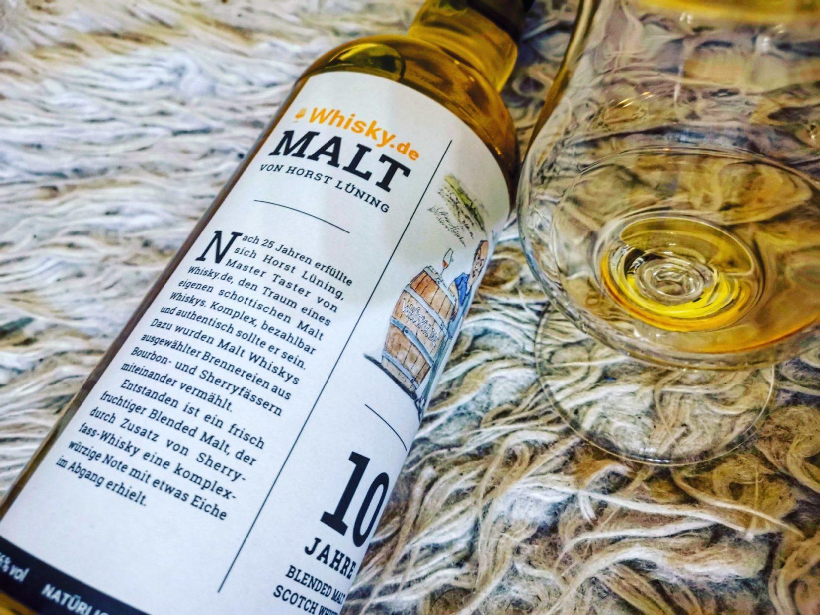 whisky.de Horst Lüning Blended Malt Scotch